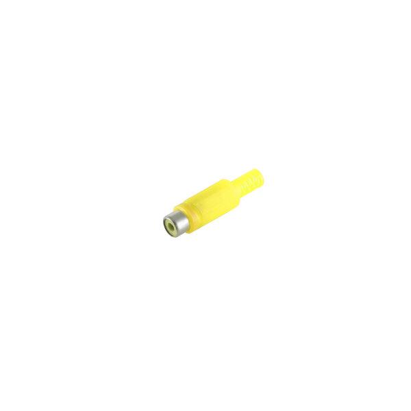 Conector RCA hembra amarillo