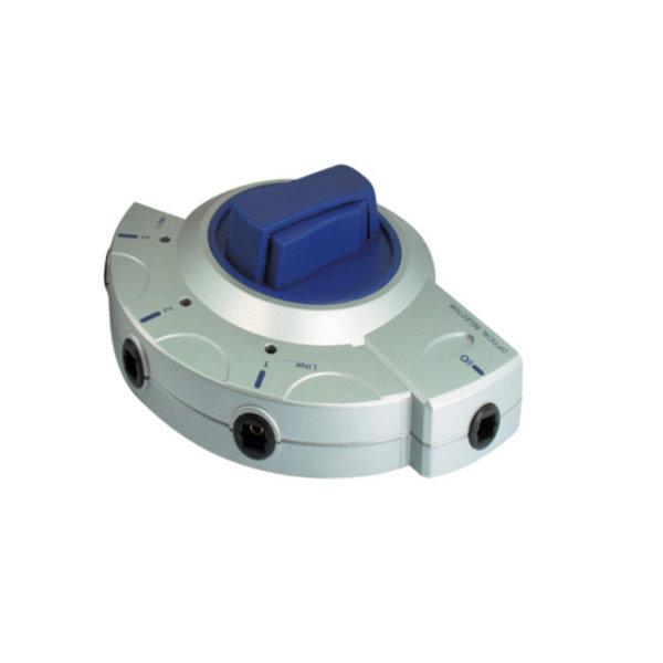 Adaptador TosLink - Conector TosLink hembra a dispositivo de conmutación de 3 conectores TosLink hembra