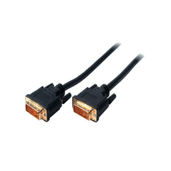 Cable DVI - Conector DVI-D  a DVI-D  24+1  Dual-Link - contactos chapados en oro - 1,5m