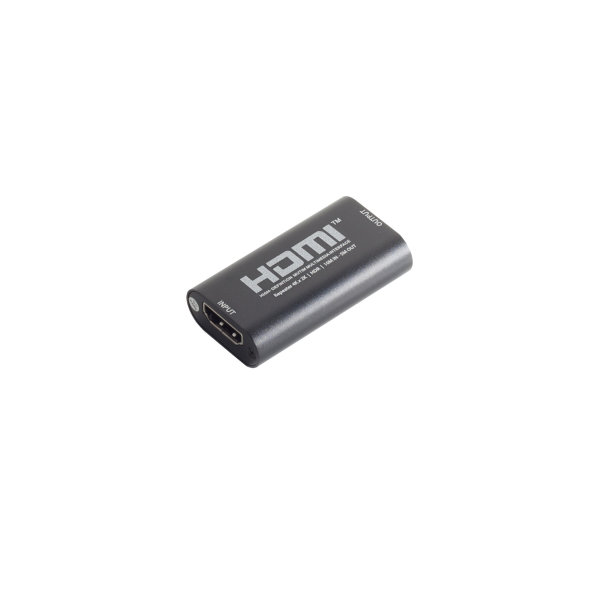 Amplificador HDMI - Extensor HDMI, 2.0, HDR, 10m IN/ 5m OUT
