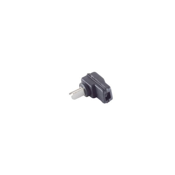 Conector altavoz - angular macho para soldar