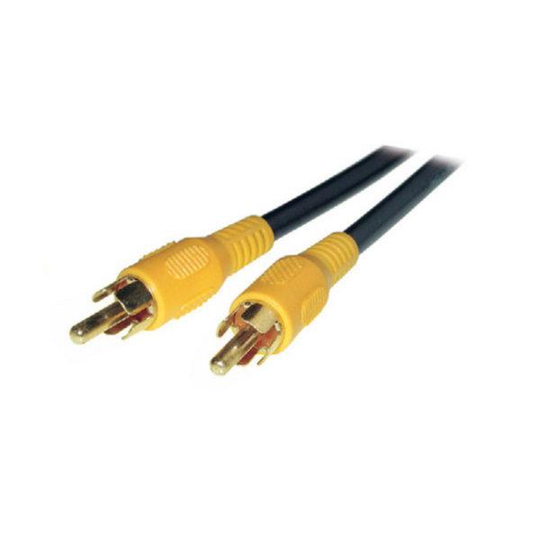 Cable RCA - Conector RCA macho a RCA macho  chapado en oro  15m