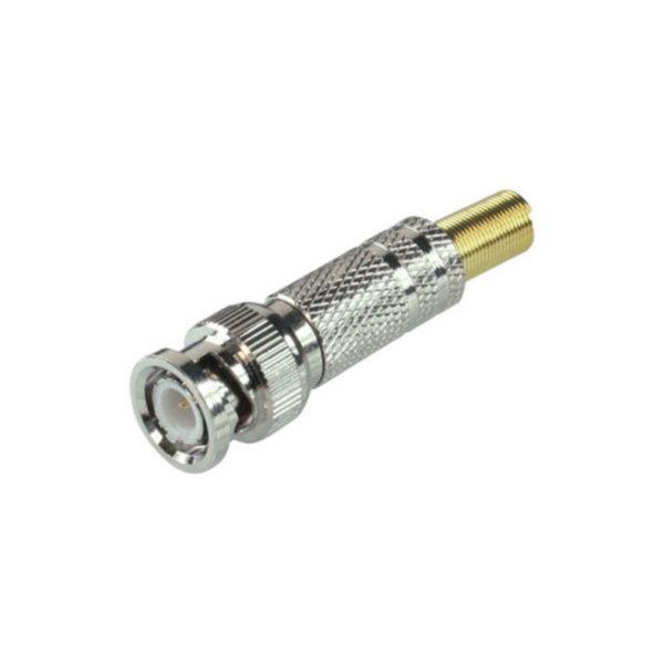 Conector BNC - Conector para soldar y atornillable  versión metálica