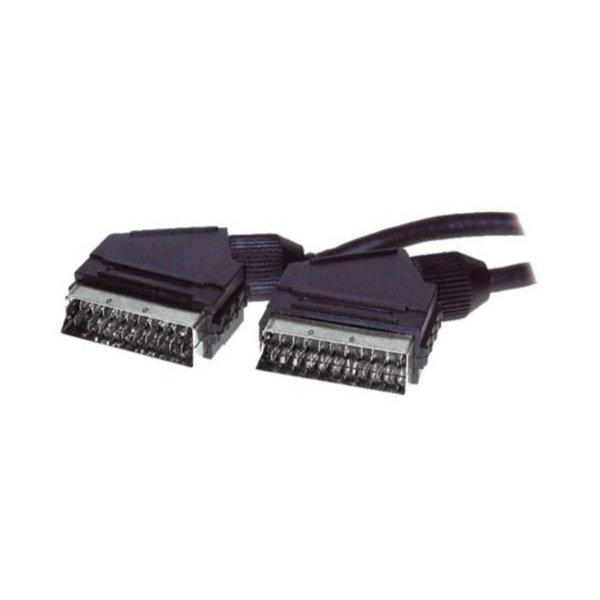 Cable Scart - Conector Scart macho a Scart macho - cable de control  2m