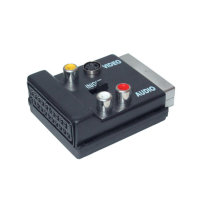 Adaptador Video/ Audio - Conector Scart macho a Scart...