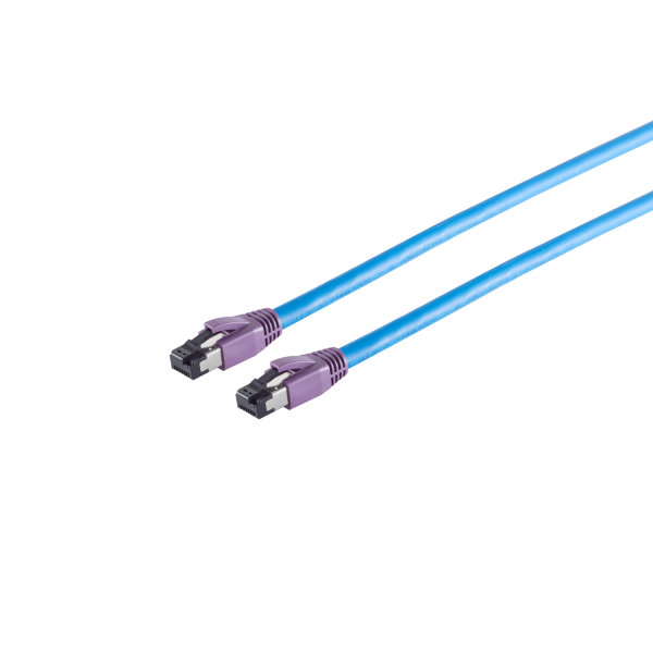 Cable de red RJ45 CAT 8.1 S/FTP PIMF libre de halógenos 0,25m