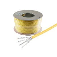 Cable de red de tendido CAT 7A+ S/FTP PIMF libre de...