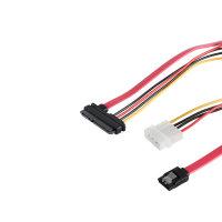 Cable combinado SATA datos y fuente de...