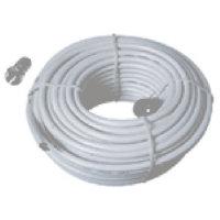 Cable coaxial 0,643/3,7 kit (2F enchufe/1 cubierta de...