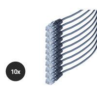 Cable de teléfono RJ11 6P4C redondo cobre 10...
