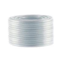 Cable de 6 hilos plano negro 50m