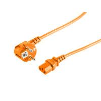 Cable de alimentación enchufe de seguridad 90°...