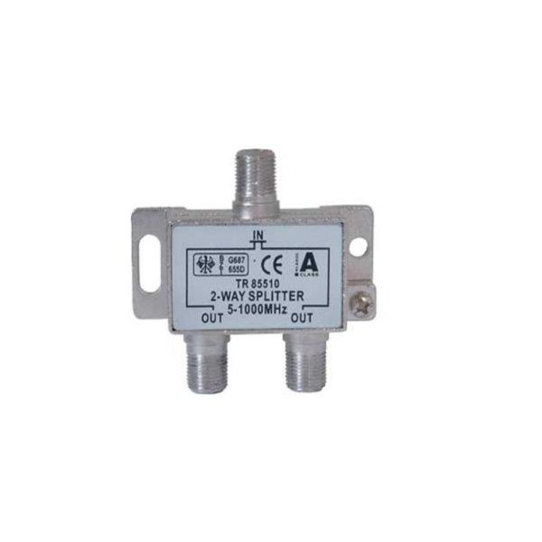 Serie F repartidor interior 2 salidas 5 a 1000 MHz 85 dB