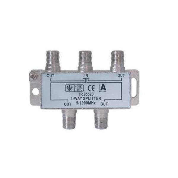 Serie F repartidor interior 4 salidas 5 a 1000 MHz 85 dB