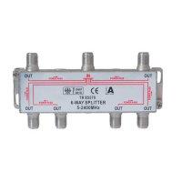 Serie F repartidor interior 6 salidas 5 a 2400 MHz 85 dB