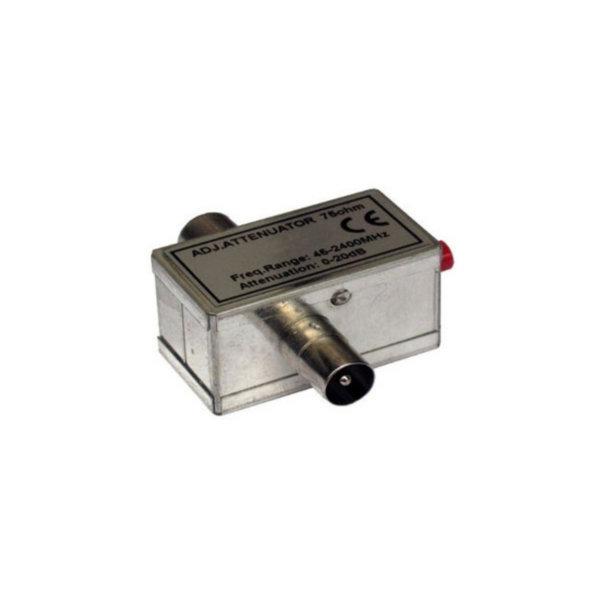 Regulador de reducción 1 - 1000 MHz 0-20 dB tecnología IEC