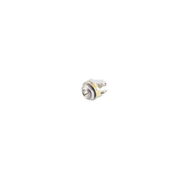 Conector 3,5mm jack hembra para empotrar estéreo abierto